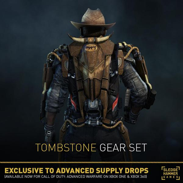 Advanced warfare new gear sets delivered by supply drops backdraft