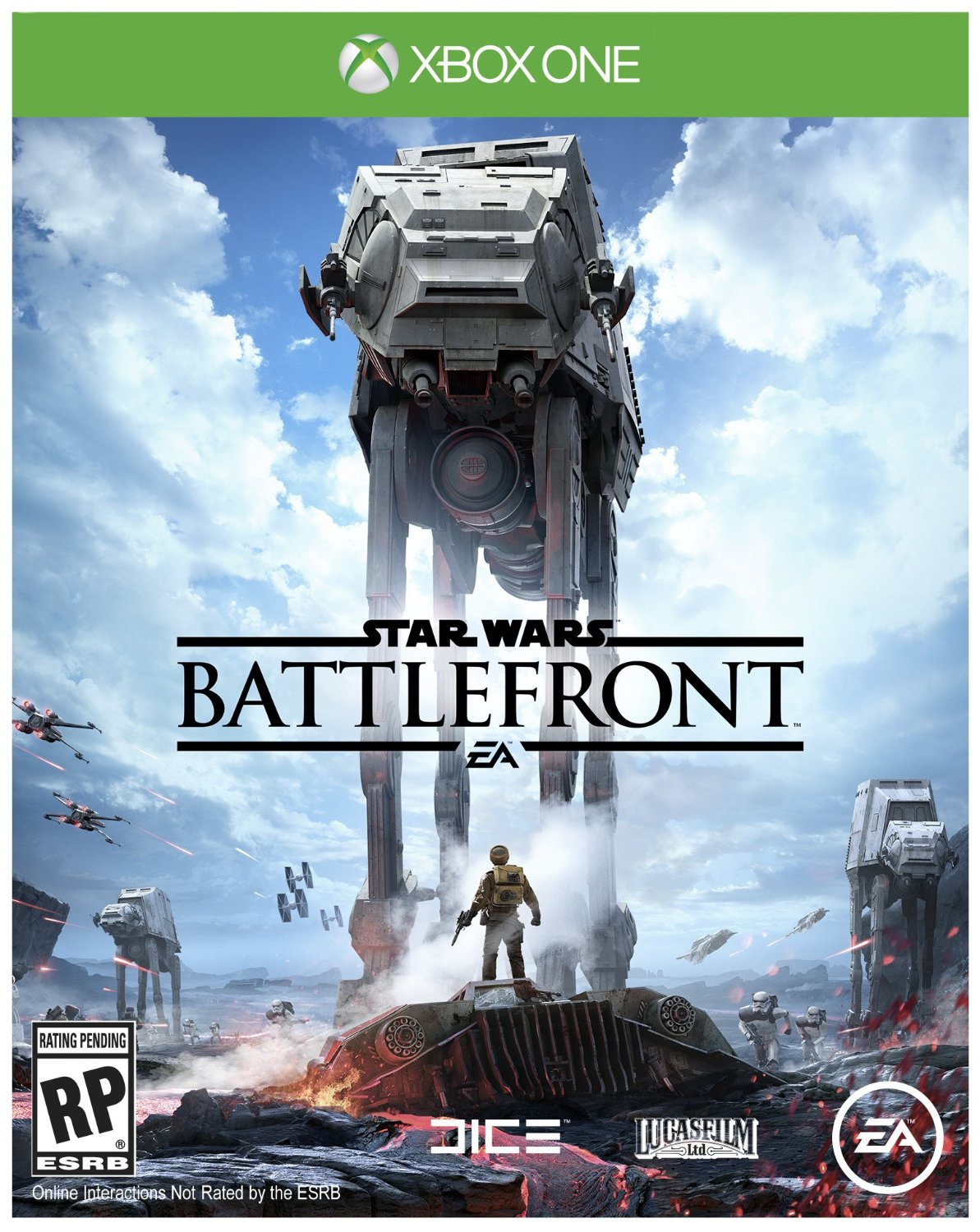star wars battlefront game covers xbox one ps4 pc. Black Bedroom Furniture Sets. Home Design Ideas