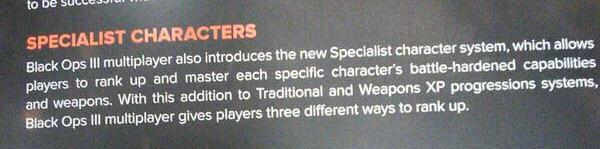specialist character