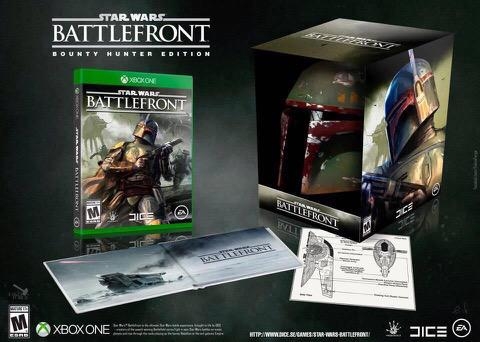 star wars battlefront collector s editions xbox one ps4. Black Bedroom Furniture Sets. Home Design Ideas