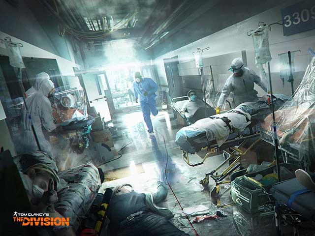The Division Game, what is the Dark Zone?
