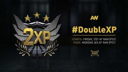 Advanced Warfare Double XP now live for the weekend, ends August 3rd