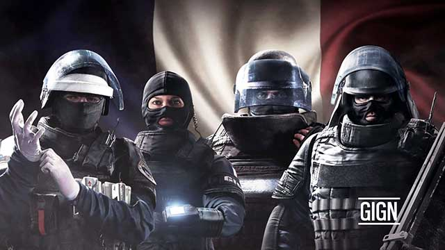 What is the Rainbow Six Siege GIGN unit