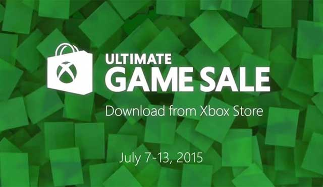 Xbox Ultimate Game Sale July 7, 2015