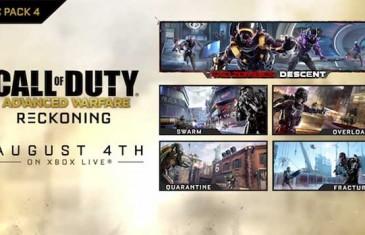 Advanced Warfare Reckoning Final DLC releasing August 6