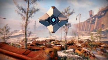 Nolan North as the voice of Ghost in Destiny The Taken King
