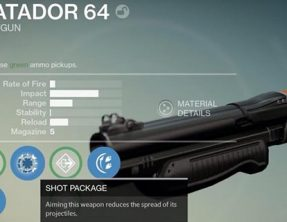 Destiny how to get Matador 64, 77 Wizard or 20/20 AMR7 sniper rifle