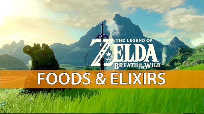 Cake Recipe In Zelda Breath Of The Wild: The Legend Of Zelda: Breath Of The Wild Elixirs And Food