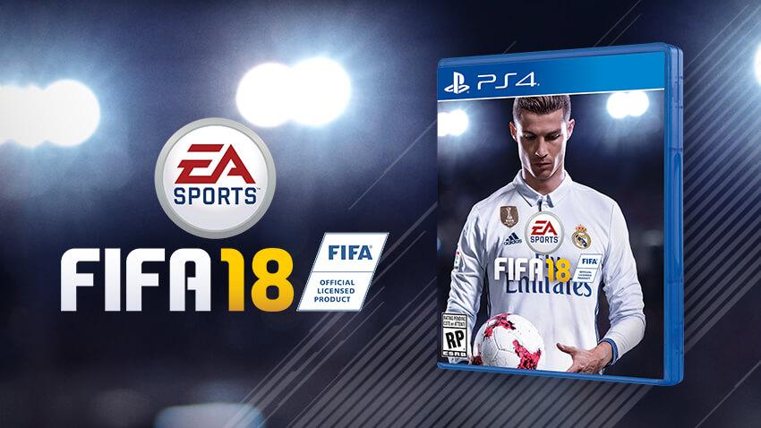 FIFA 18 Reveal Trailer - Ronaldo Gameplay