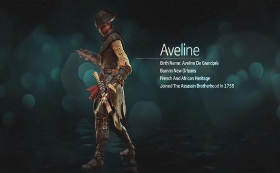 Assassin's Creed 3 Liberation Aveline