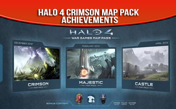 Halo 4 Crimson Map Pack Achievements Guide