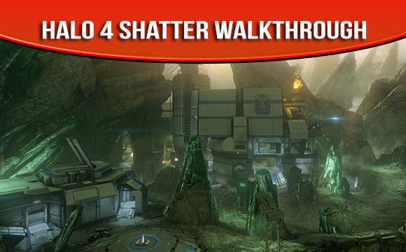 Halo 4 Map Pack Shatter Walkthrough and Strategy Guide Videos