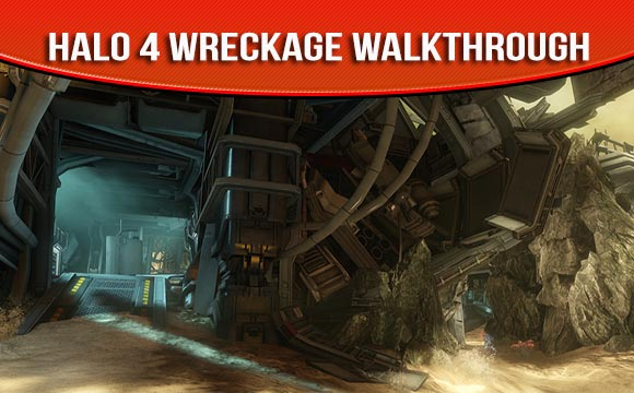 Halo 4 Map Pack Wreckage Walkthrough and Strategy Guide