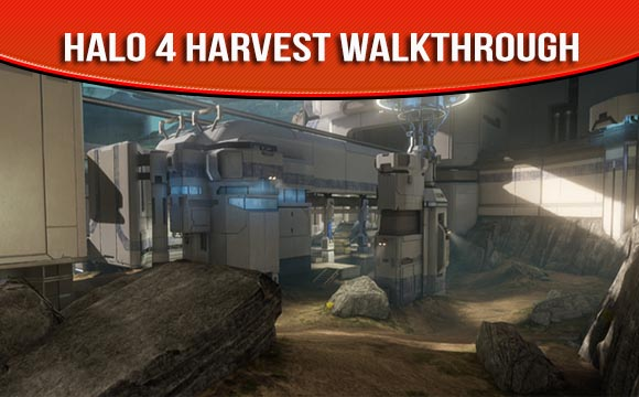 Halo 4 Map Pack Harvest Walkthrough and Strategy Guide Videos