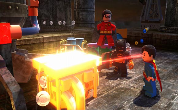 Lego Batman 2 DC Super Heroes All Gold Doors Locations Guide
