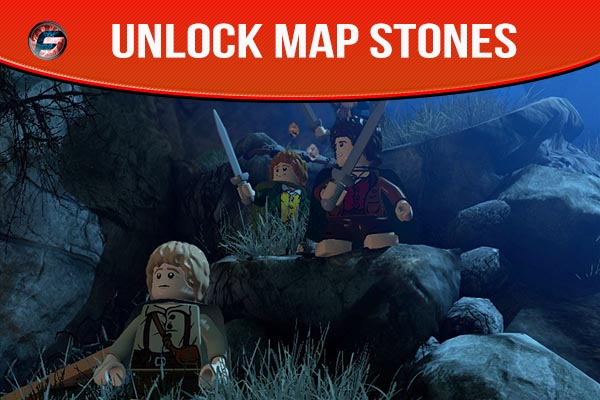 Map Stones Lego Lord Of The Rings