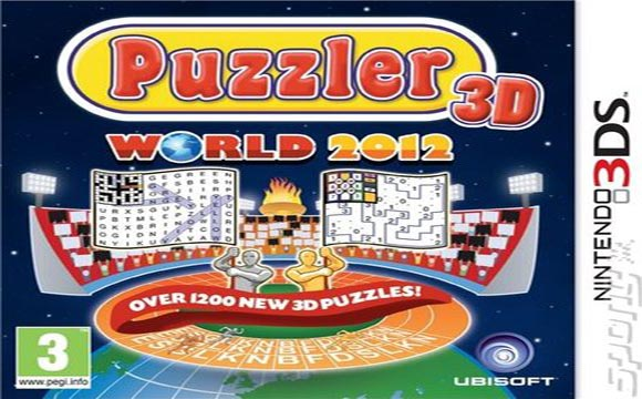 Puzzler World 2012 3D Available Now for 3Ds