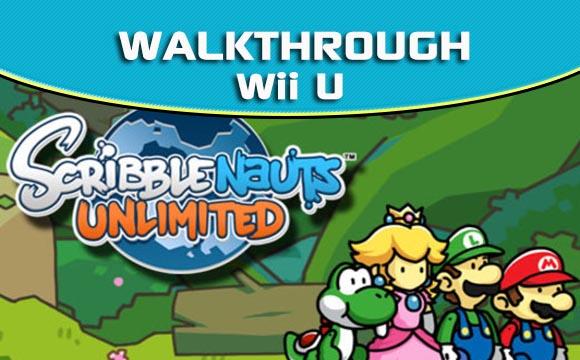 Scribblenauts Unlimited Wii U Walkthrough