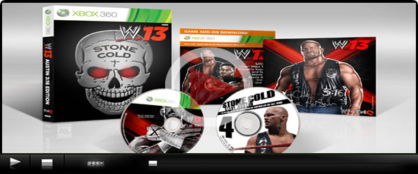 WWE 13 Steve Austin Collectors Edition