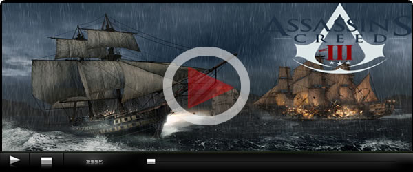 Assassins Creed 3 Naval warfare Trailer