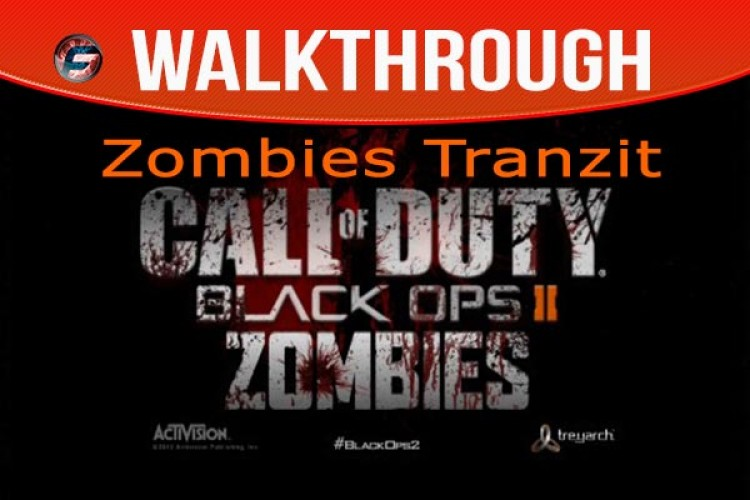 black Ops 2 Zombies Tranzit walkthrough