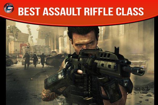 black ops 2 best assault riffle