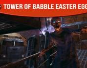 tower of babble easter egg