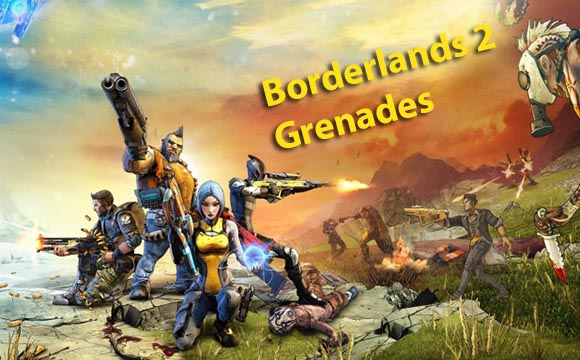 Borderlands 2 all Grenades Locations Guide