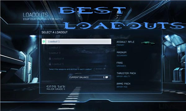 Halo 4 Best Loadouts Tips and Guide