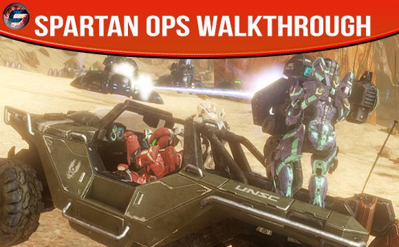 Halo 4 Spartan Ops Walkthrough and Wiki Guides