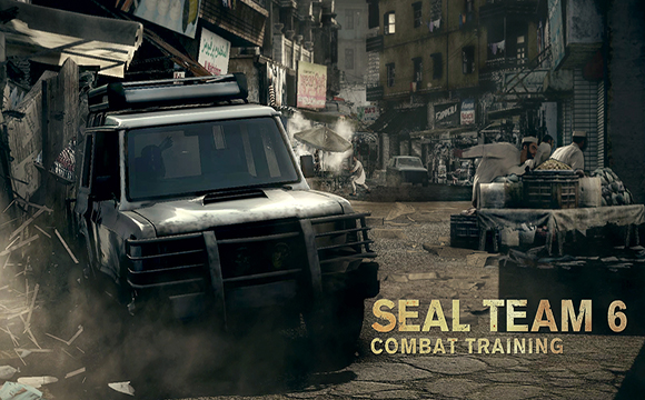 Medal of Honor Warfighter Combat Driving Skills