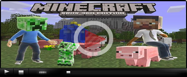 The Minecraft Xbox 360