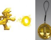 New Super Mario Bros 2 Gold Mario Pin Pre-Order Bonus