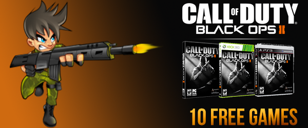 Black Ops 2 Giveaway 10 Free Games
