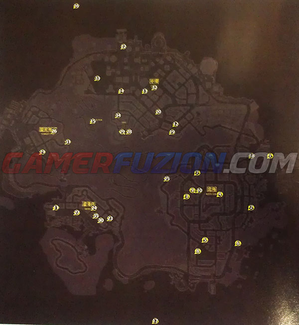 Sleeping Dogs Favors Mission Locations Guide