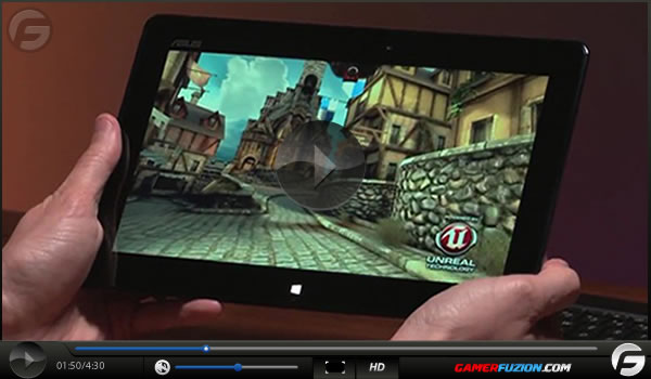 Windows 8 Tablets Running Unreal Engine 3