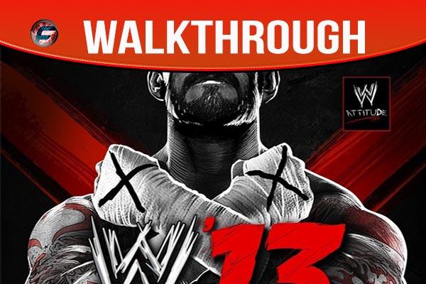 WWE 13 walkthrough