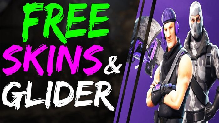 how to get a free skin in fortnite